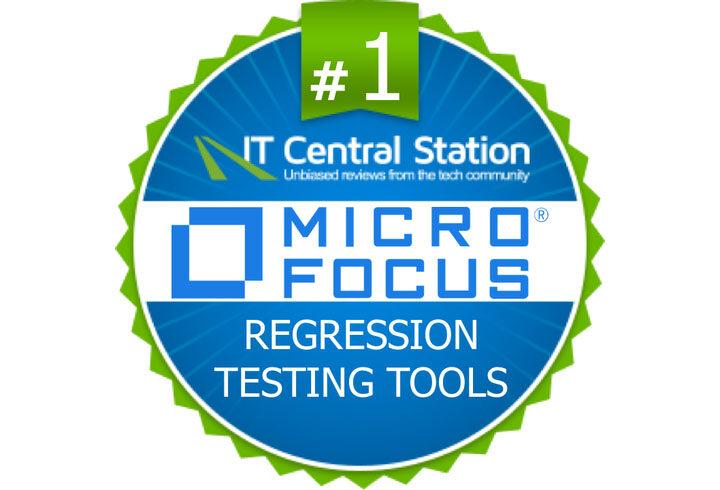 UFT One z firmy Micro Focus na 1 miejscu w zestawieniu Regression Testing Tool